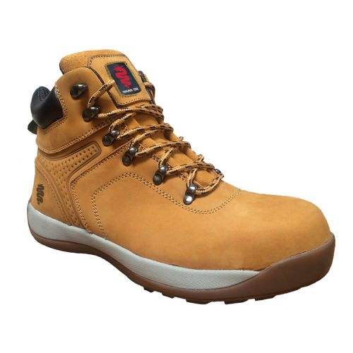 Warrior Wheat Nubuck Leather Hiker Boots